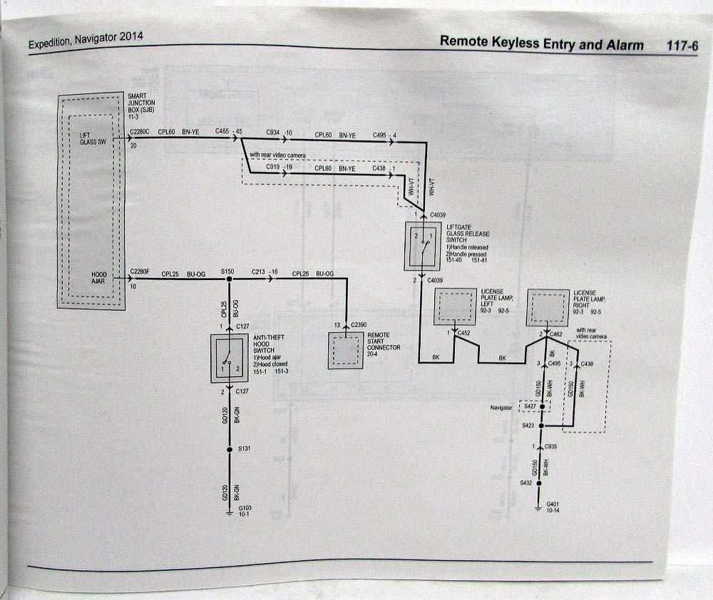 medium resolution of 2014 ford expedition lincoln navigator electrical wiring diagrams manual