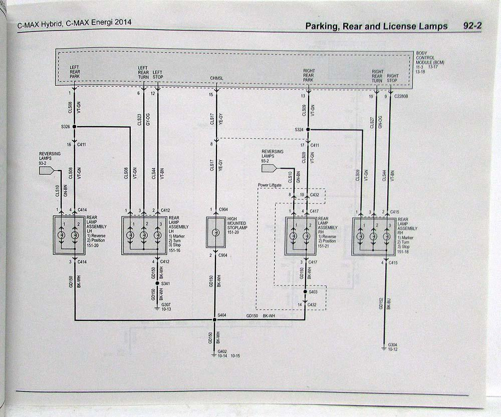 Ford Grand C Max Wiring Diagram