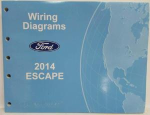 2014 Ford Escape Electrical Wiring Diagrams Manual