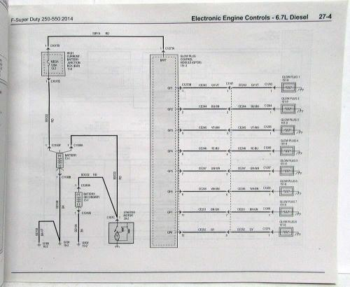 small resolution of 2014 ford f 250 350 450 550 super duty pickup electrical wiring diagrams manual