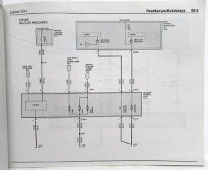 2014 Ford Explorer Electrical Wiring Diagrams Manual