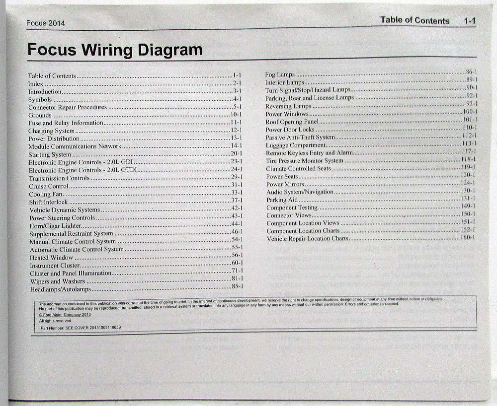 medium resolution of 2014 ford focu st wiring diagram