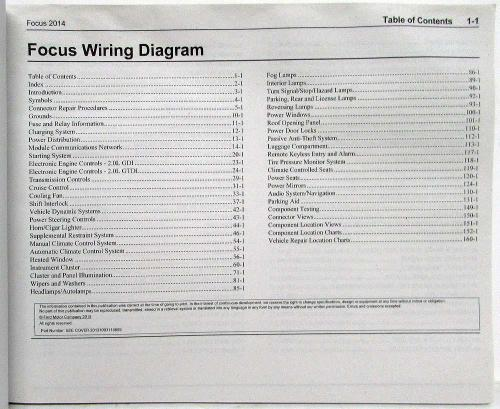 small resolution of 2014 ford focu st wiring diagram