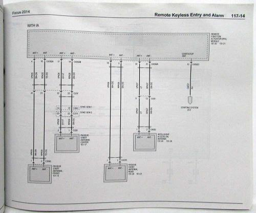 small resolution of 2014 ford focu wiring diagram
