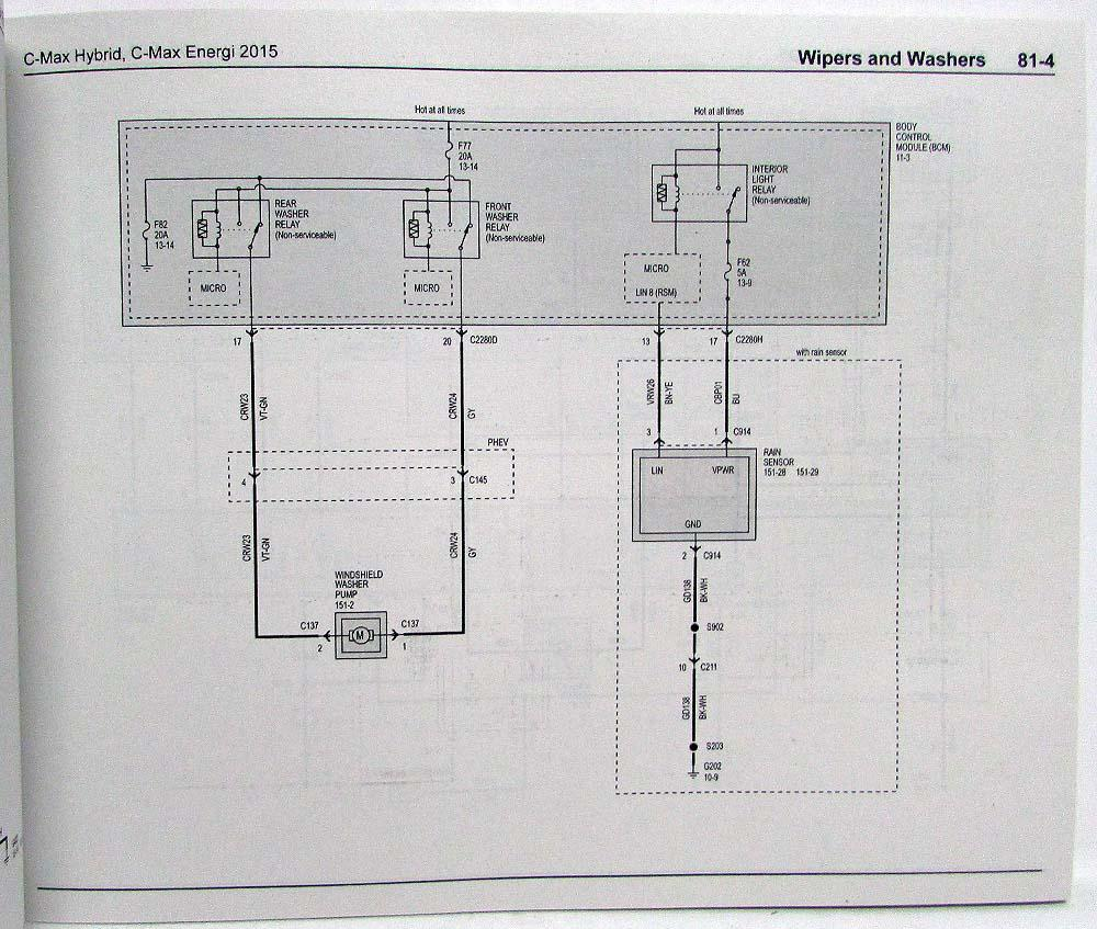 hight resolution of 2015 ford c max hybrid energi electric electrical wiring diagrams manualc max wiring diagram 21