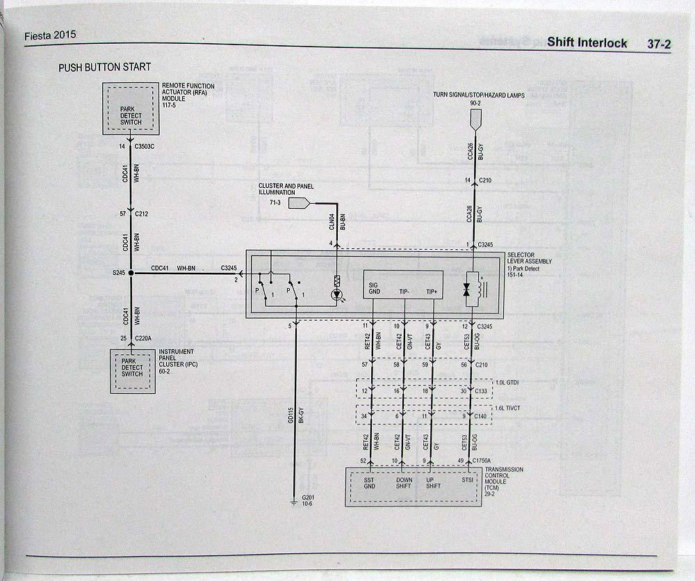 ford puma central locking wiring diagram db9 2015 fiesta electrical diagrams manual
