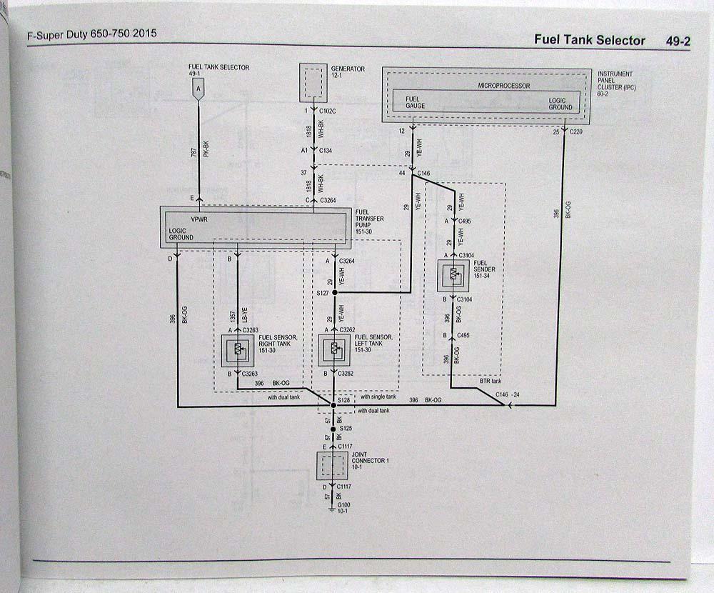 electrical wiring diagram ford f650 2006 mitsubishi eclipse car radio 2015 schematic f 650 750 super duty trucks diagrams manual 2005