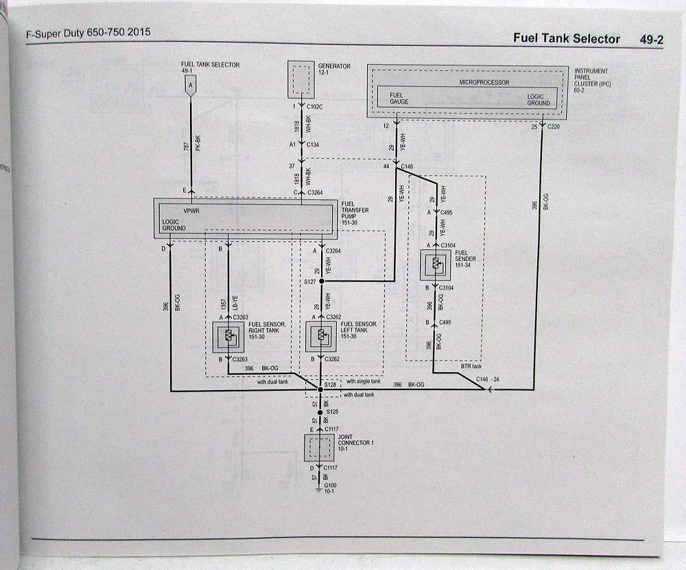 hight resolution of 2015 ford f 650 750 super duty trucks electrical wiring diagrams manual 2002 f650 fuse diagram