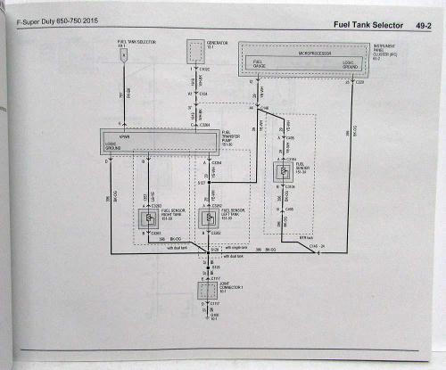 small resolution of 2015 ford f 650 750 super duty trucks electrical wiring diagrams manual 2002 f650 fuse diagram