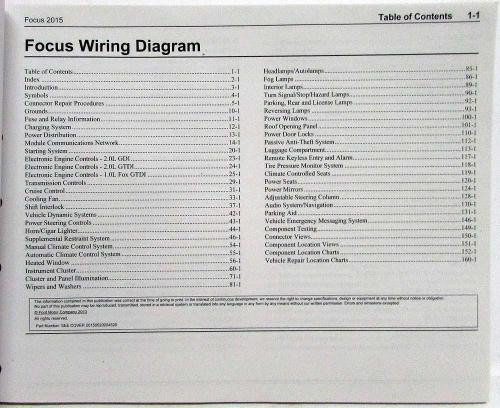 small resolution of 2015 ford focus st electrical wiring diagrams manual 2013 ford focus wiring diagram at lighting wiring