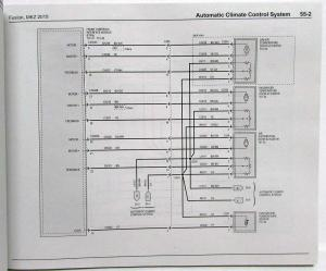 2015 Ford Fusion Lincoln MKZ Electrical Wiring Diagrams Manual