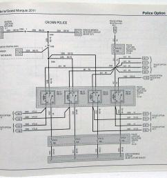 2011 ford crown victoria mercury grand marquis electrical wiring diagrams [ 1000 x 843 Pixel ]