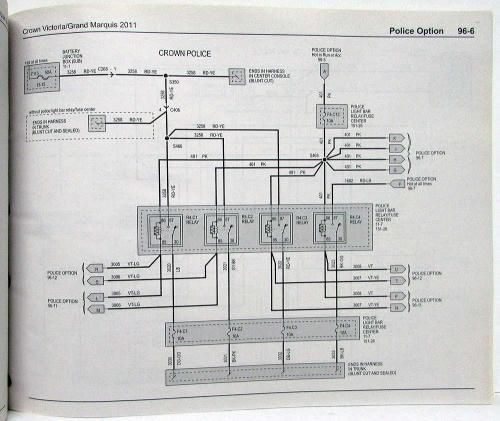 small resolution of 2011 ford crown victoria mercury grand marquis electrical wiring diagrams