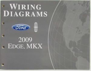 2009 Lincoln MKS Service Shop Repair Manual Original
