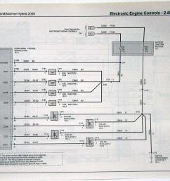 2009 ford escape mercury mariner hybrid electrical wiring diagrams manual [ 1000 x 814 Pixel ]