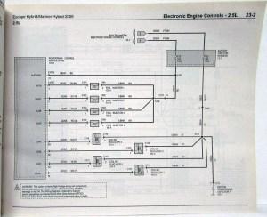 2009 Ford Escape & Mercury Mariner Hybrid Electrical