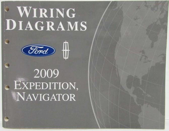 2009 ford expedition  lincoln navigator electrical wiring
