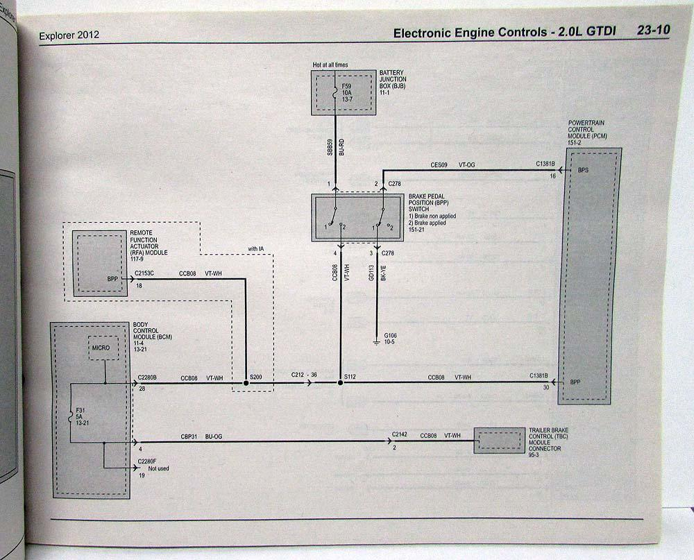 medium resolution of 2012 ford explorer electrical wiring diagrams manual 2012 ford explorer electrical wire diagram