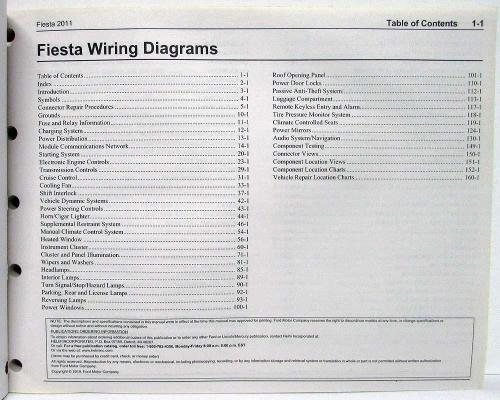 small resolution of 2011 ford fiesta electrical wiring diagrams manual