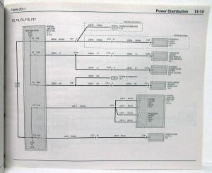 2011 Ford Fiesta Electrical Wiring Diagrams Manual