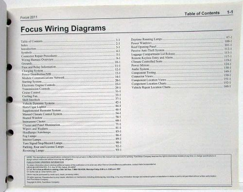 small resolution of ford focu wiring diagram 2011