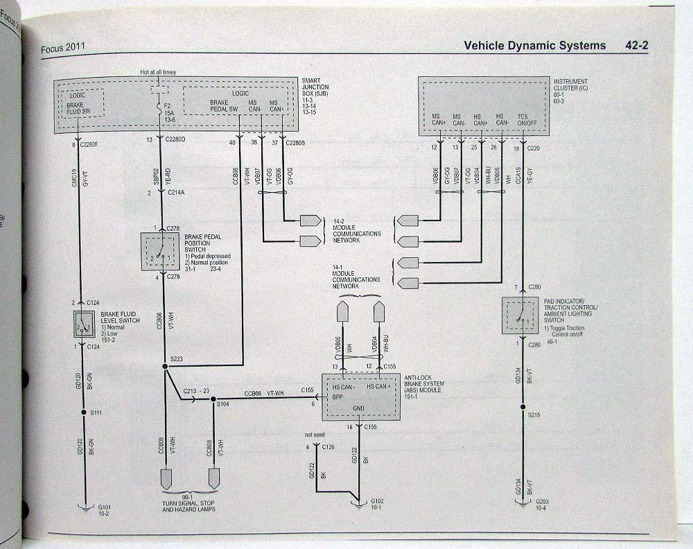 hight resolution of ford focu wiring diagram 2011