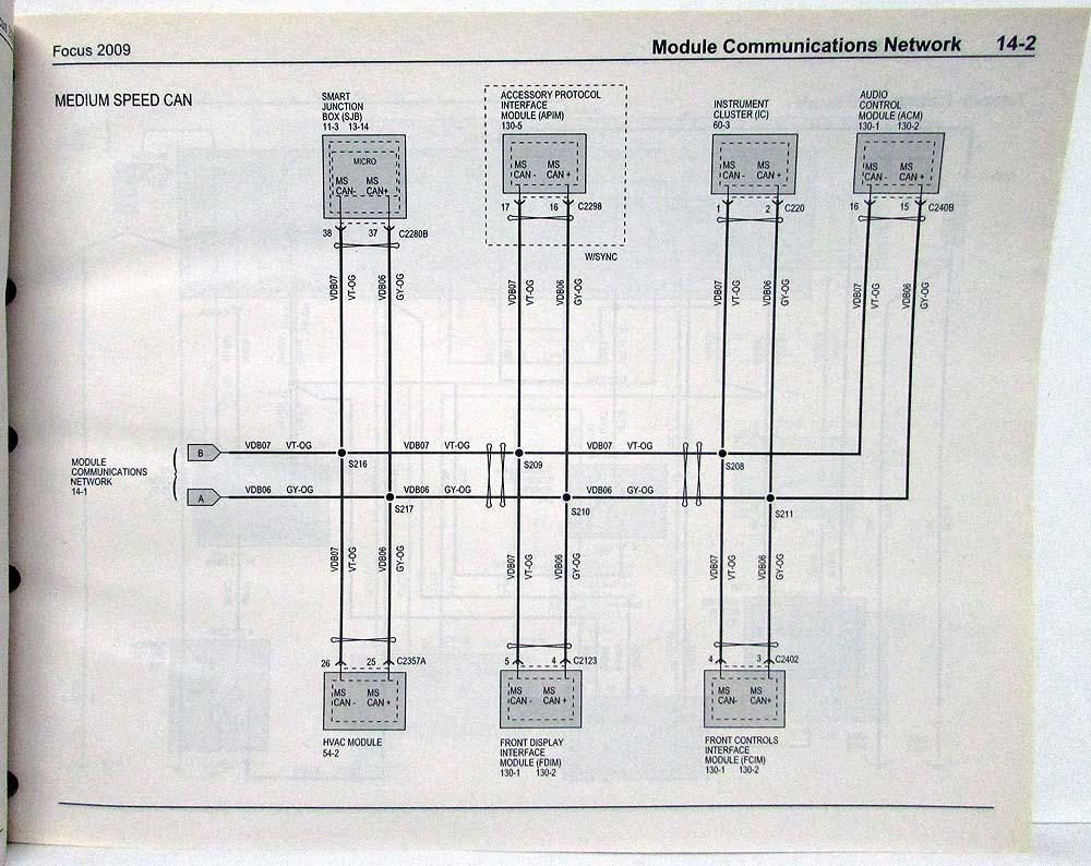 hight resolution of ford focu wiring diagram 2009
