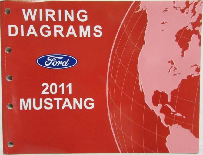 2011 ford mustang gt shelby gt500 electrical wiring diagrams