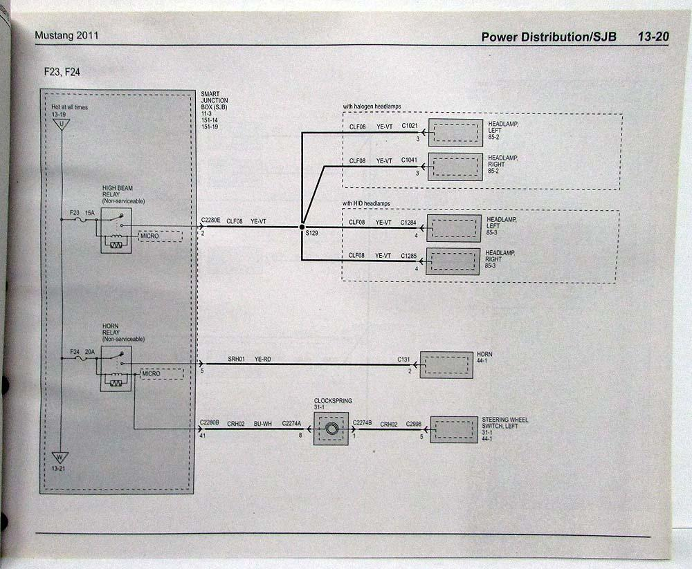 hight resolution of 2011 shelby gt500 wiring diagram