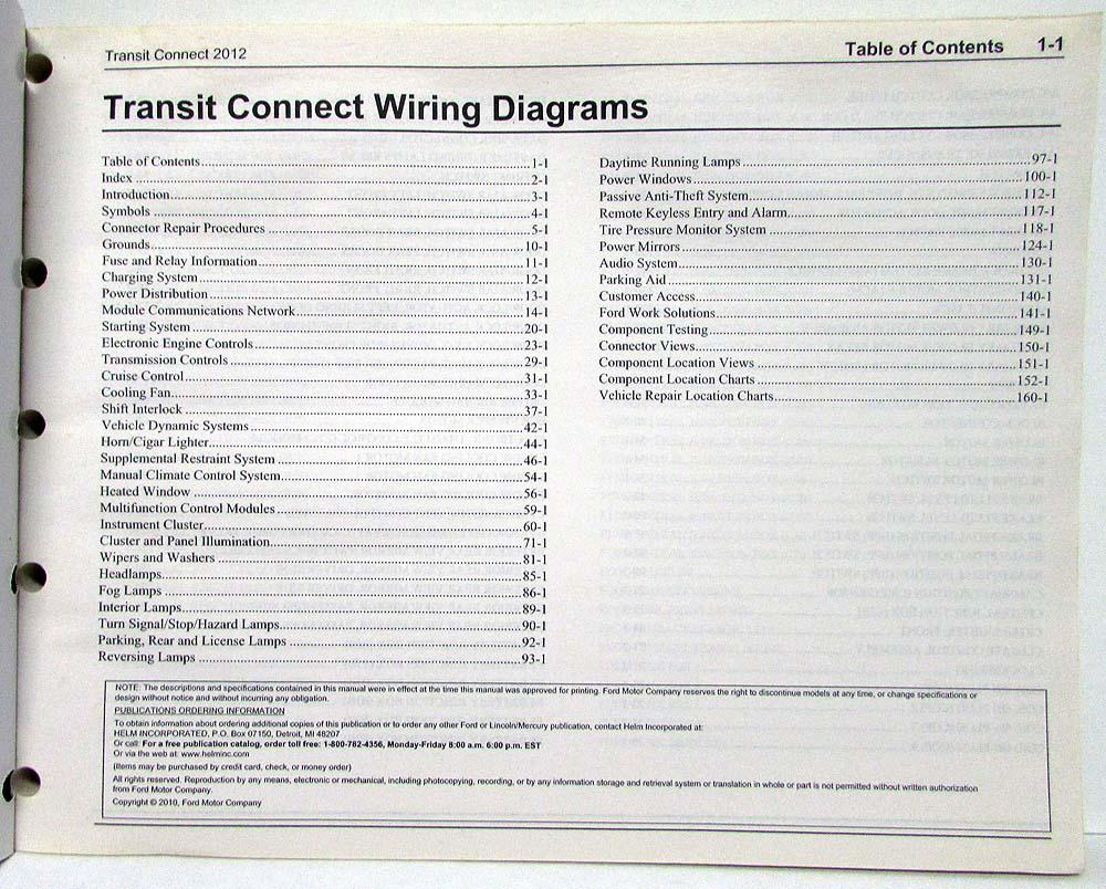 medium resolution of 2012 ford transit connect electrical wiring diagrams manual transit connect 2012 wiring diagram 2012 transit connect wiring diagram