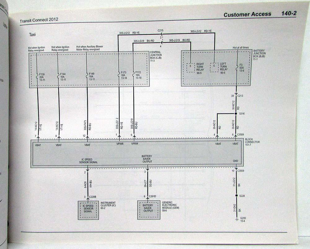 hight resolution of ford van wire diagram