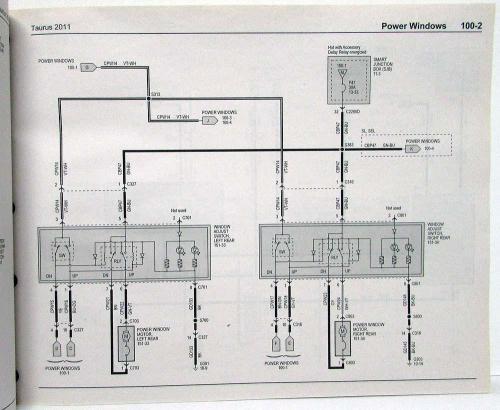 small resolution of 2011 ford tauru wiring diagram