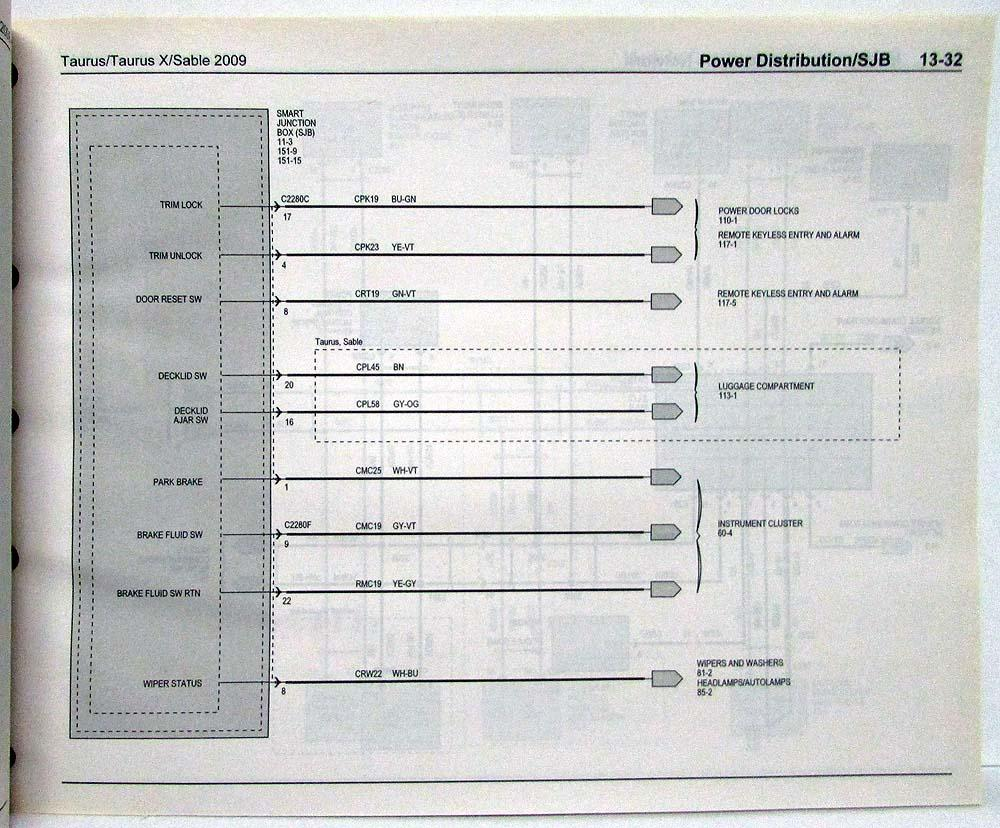 hight resolution of 2008 mercury sable wiring