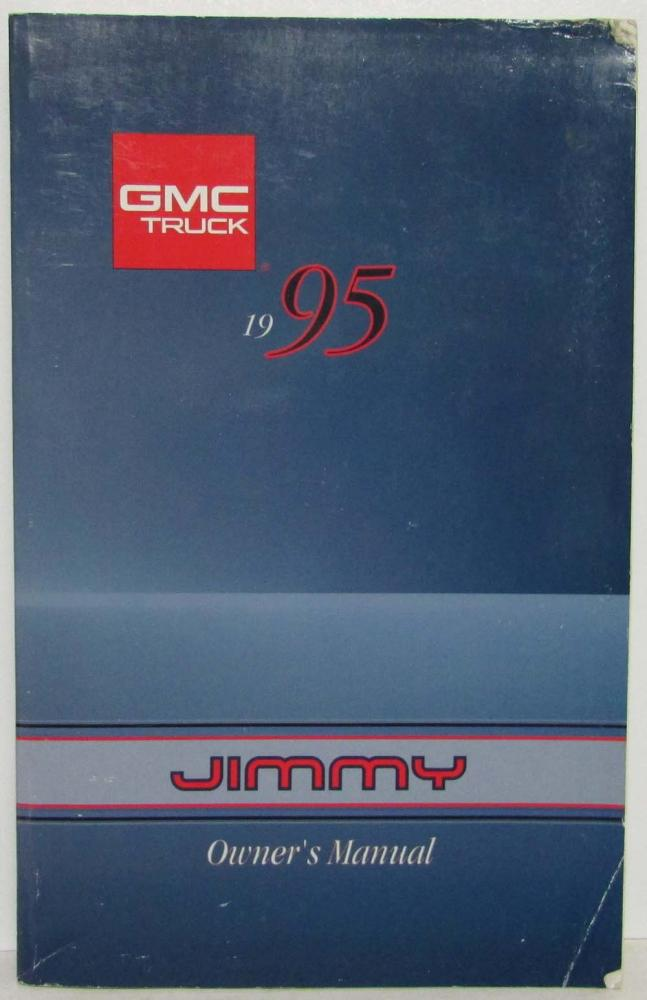 1995 Gmc Sierra Owners Guides