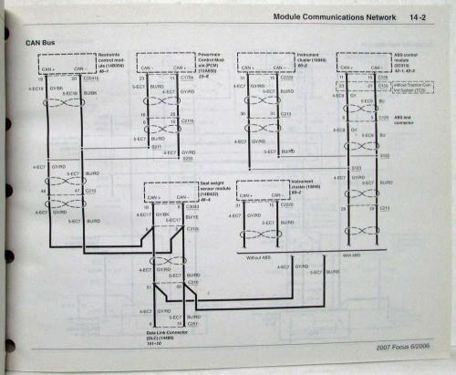 small resolution of 2007 focu wiring diagram