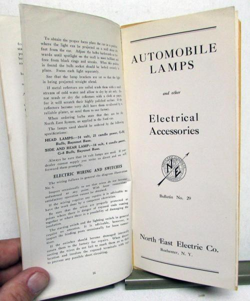small resolution of 1913 1915 ford model t starting lighting owners instruction manual install care