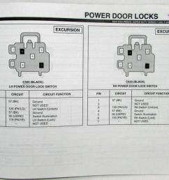 2000 ford excursion f 250 350 450 550 superduty electrical wiring diagram manual [ 1000 x 833 Pixel ]