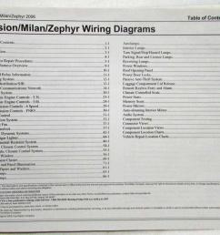 2006 ford fusion mercury milan lincoln zephyr electrical wiring2006 ford fusion mercury milan lincoln zephyr electrical [ 1000 x 796 Pixel ]