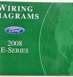 2008 ford econoline club wagon e series van electrical wiring diagrams manual [ 1000 x 788 Pixel ]