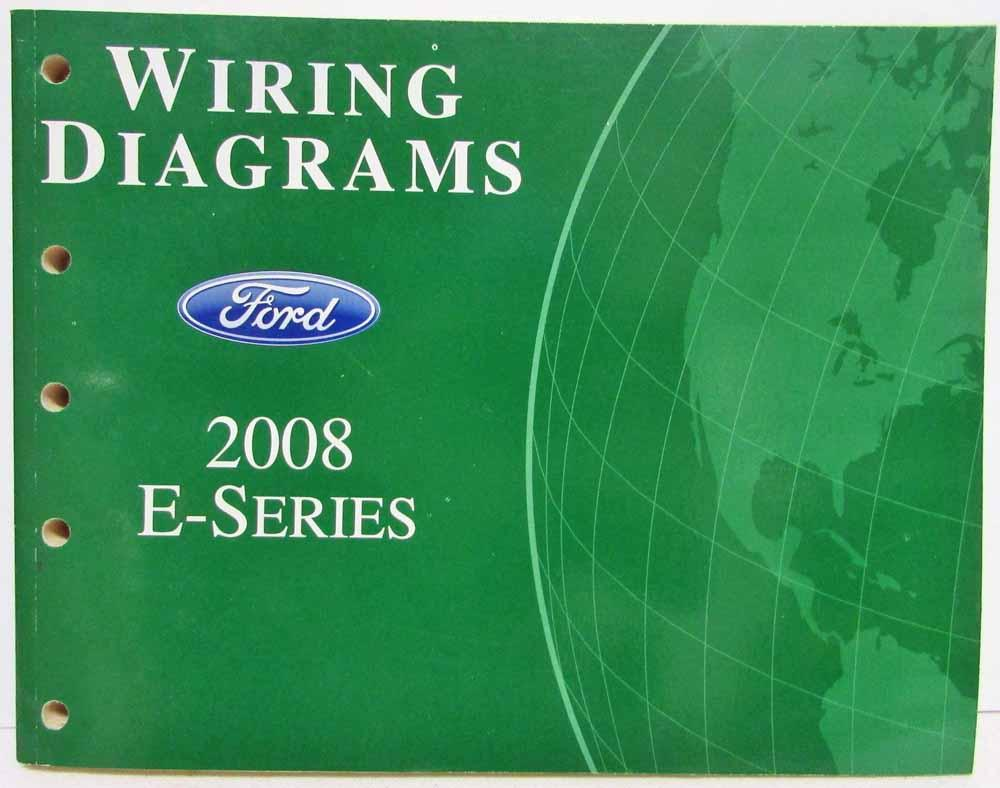 hight resolution of 2008 ford econoline club wagon e series van electrical wiring diagrams manual