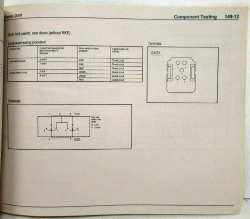 small resolution of 2008 ford econoline club wagon e series van electrical wiring diagrams manual
