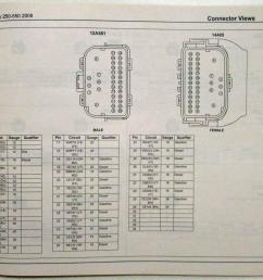 2008 ford f 250 350 450 550 super duty pickup electrical wiring diagrams manual [ 1000 x 851 Pixel ]