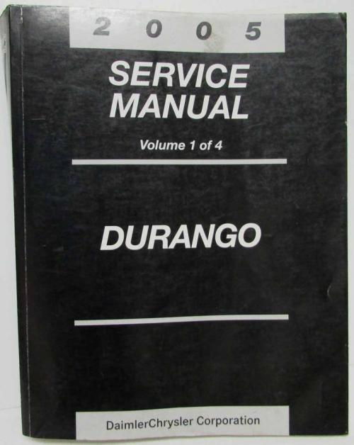 small resolution of 05 dodge durango manual