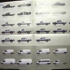 Bf Falcon Ute Wiring Diagram Website Tree 2008 Ford Ranger Transit Australian Sales Brochure Right Hand Drive