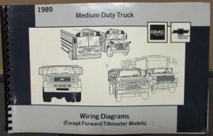 1989 GMC Electrical Wiring Diagram Service Manual Medium