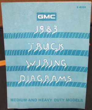 1983 GMC Electrical Wiring Diagram Dealer Manual Medium