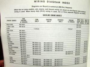 1965 GMC Dealer Electrical Wiring Diagram Service Manual