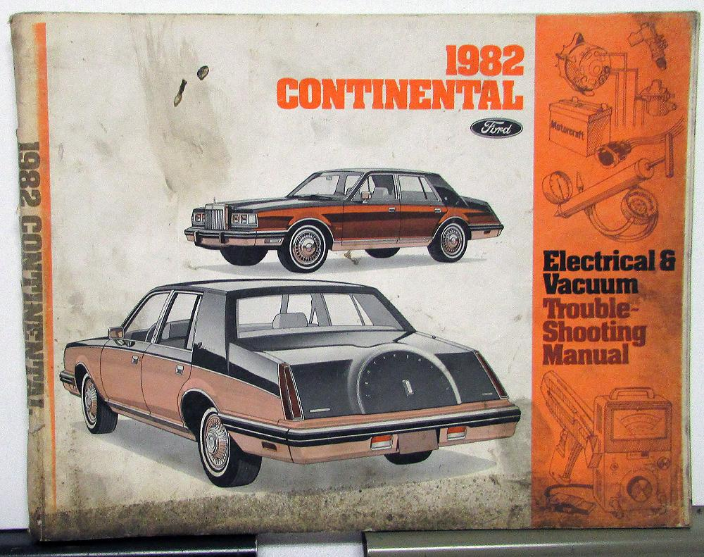 medium resolution of 1982 lincoln dealer electrical vacuum diagram service manual continental