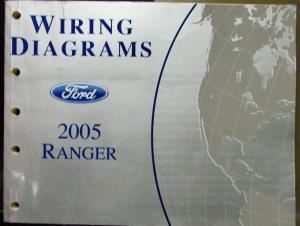 2005 Ford Electrical Wiring Diagram Service Manual Ranger