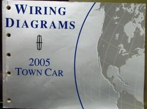 2005 Lincoln Electrical Wiring Diagram Service Manual Town Car